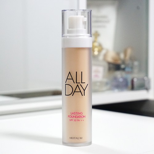ARITAUM All Day Lasting Foundation REVIEW