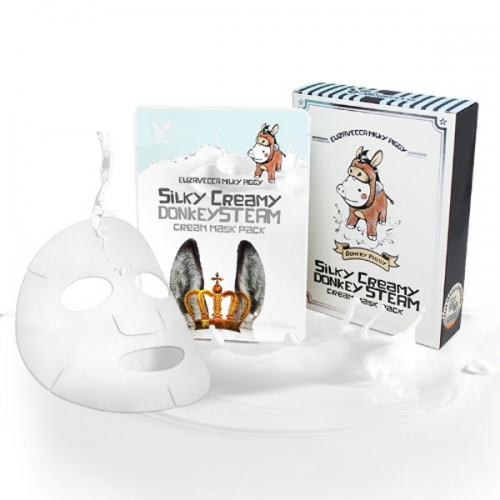 Elizavecca Milky Piggy Silky Creamy Donkey Steam Cream Mask Pack (25ml x 10ea)