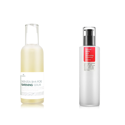 Neulii Greentea BHA Pore Tightening Serum 100ml + COSRX NATURAL BHA SKIN RETURNING EMULSION 100ml