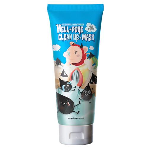 Elizavecca Milkypiggy Hell Pore Clean Up Nose Mask, Liquid Type Nose Pack 100ml by Jolse