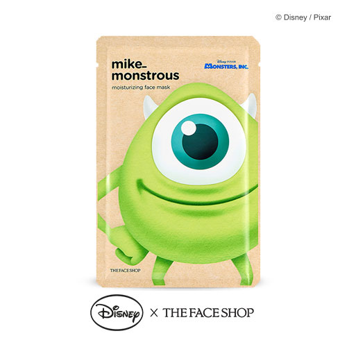 The FACE Shop Mike Monstrous Moisturizing Face Mask