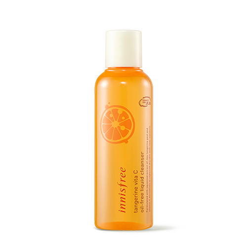 Innisfree tangerine vita C oil-free liquid cleanser 150ml