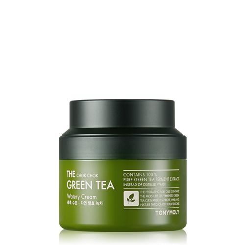 Tonymoly The Chok Chok Green Tea Watery Cream 100ml by Jolse