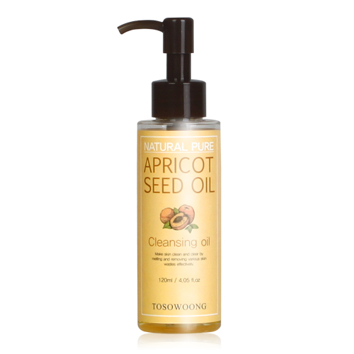 TOSOWOONG Natural Pure Apricot Seed Cleansing Oil 120ml