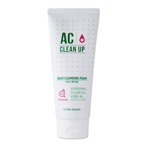 [SP] Etude House AC Clean up Daily Cleansing Foam 150ml