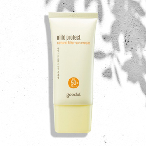 goodal Mild Protect Natural Filter Sun Cream 50ml SPF50+ PA+++