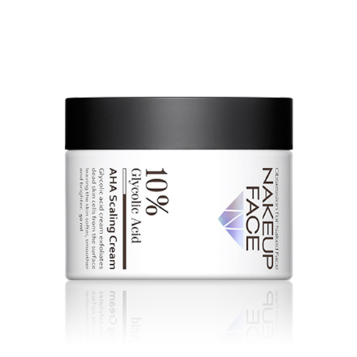 NAKEUP FACE 10% Glycolic Acid AHA Scaling Cream 50ml