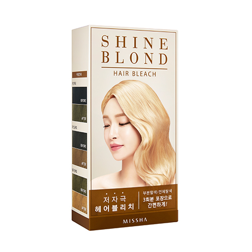 Missha Shine Blond Hair Bleach