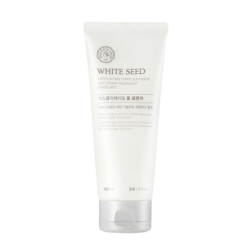 The FACE Shop White Seed Exfoliating Foam Cleanser 150ml