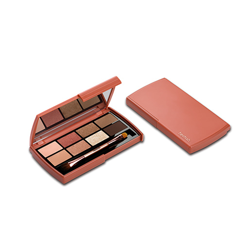 heimish Dailism Eye Palette Brick Brown