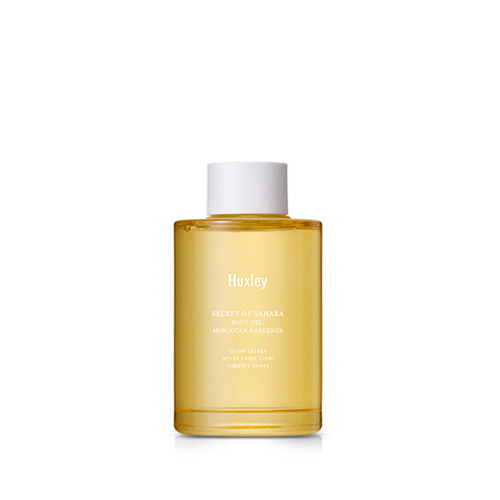 Huxley BODY Oil; MOROCCAN GARDENER 100ml