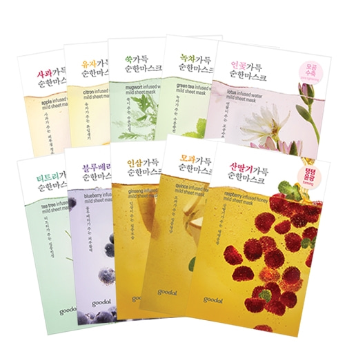 goodal Mild Sheet Mask 10ea