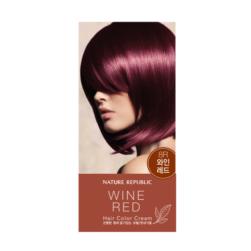 Nature Republic Hair & Nature Hair Color Cream 8R Wine Red