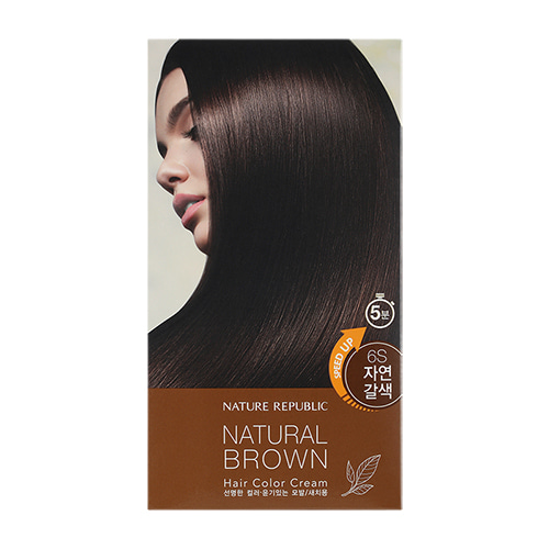 Nature Republic Hair & Nature Hair Color Cream 6S Natural Brown