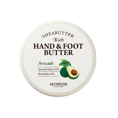 SKINFOOD Shea Butter Rich Hand & Foot Butter Avocado 60ml