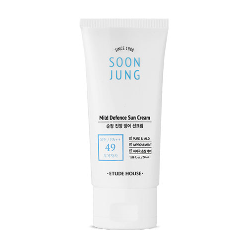 ETUDE HOUSE Soon Jung Mild Defence Sun Cream SPF49 PA++ 25ml
