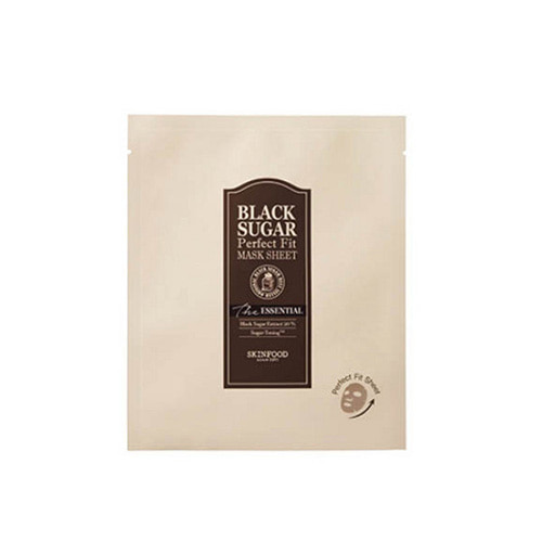 SKINFOOD Black Sugar Perfect Fit Mask Sheet The Essential 22ml