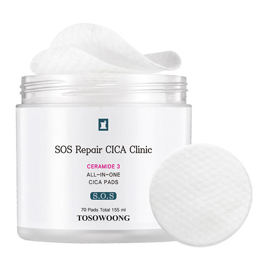 TOSOWOONG SOS Repair CICA Clinic All-In-One Cica Pads 70ea