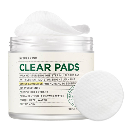 NATUREKIND Clear Pads 70ea