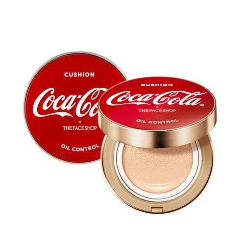 THE FACE SHOP Coca-Cola Oil Control Water Cushion 15g