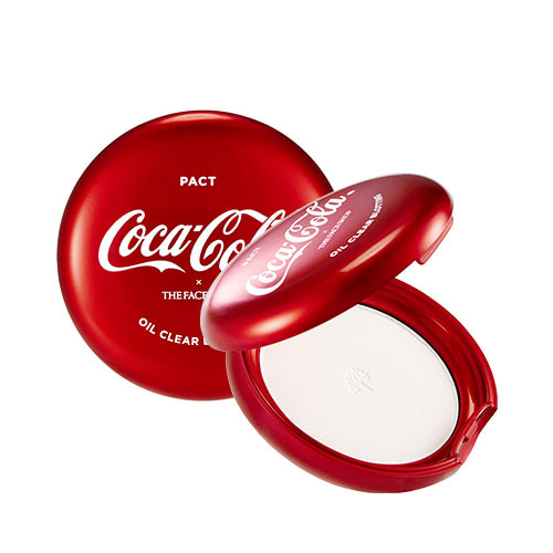 THE FACE SHOP Coca-Cola Oil Clear Blotting Pact 9g