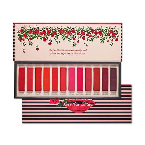 ETUDE HOUSE Blooming Lips Talk Rose Kiss Edition 16.8g