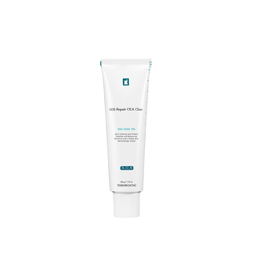 TOSOWOONG SOS Repair Cica Clinic Zinc 10% Cream 50g