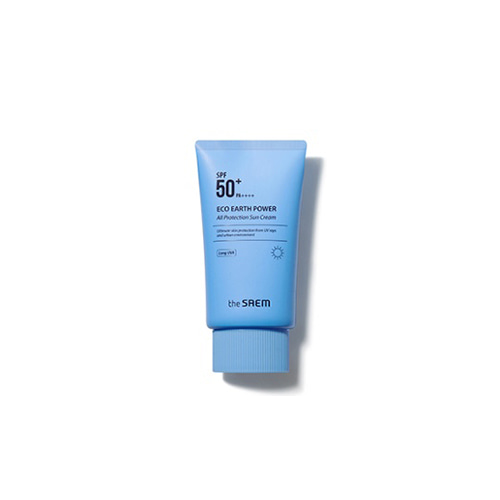 the SAEM Eco Earth Power All Protection Sun Cream SPF50+ PA++++ 50g