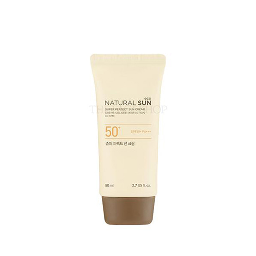 THE FACE SHOP Natural Sun Eco Super Perfect Sun Cream SPF50+ PA+++ 80ml