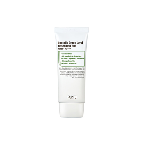 PURITO Centella Green Level Unscented Sun SPF50+ PA++++ 60ml