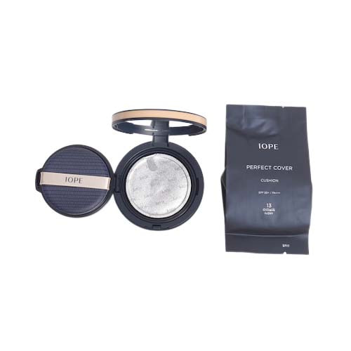 IOPE Perfect Cover Cushion SPF50+ PA+++ 15g + Refill 15g
