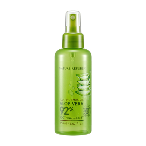 Nature Republic Soothing & Moisture Aloe Vera 92% Soothing Gel Mist 150ml