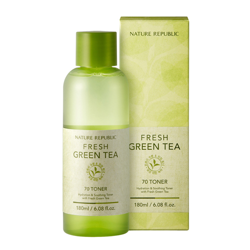 Green tea as a toner