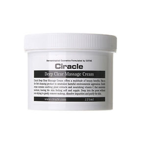 Ciracle Deep Clear Massage Cream 225ml