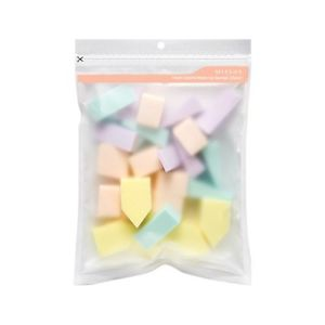 Missha Fresh Colorful Sponge (25pcs) Soft Makeup Puff