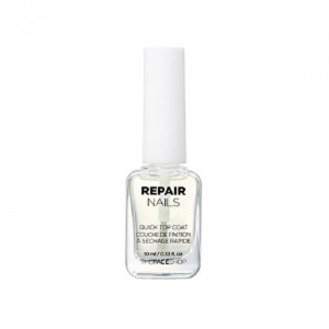 The FACE Shop Repair Nails 10ml No.7 Quick Top Coat Couche De Finition