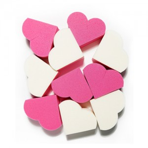 Etude House My Beauty Tool Heart Shape Puff 20pcs