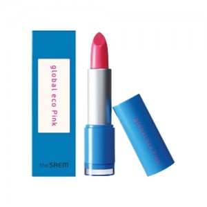 the SAEM Global Eco Pink Lipstick 3.4g
