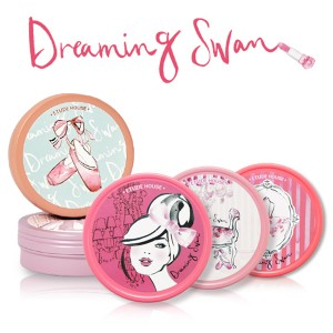 Etude house Dreaming Swan Eye and Cheek 9g