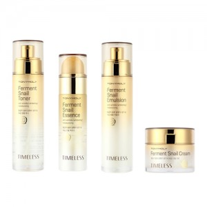 TONYMOLY Timeless Ferment Snail Essence+Emulsion+Toner+Cream set