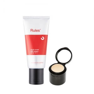 too cool for school Rules of Skincare Dual Cover BB Cream SPF30 PA++ (BB 50ml + Concealer 1.5g)