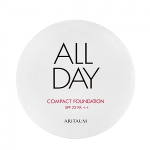 ARITAUM All Day Compact Foundation SPF22 PA+++ 11g