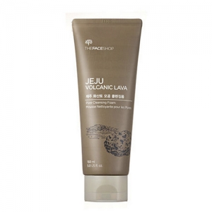 The FACE Shop Jeju Volcanic Lava Pore Cleansing Foam 150m