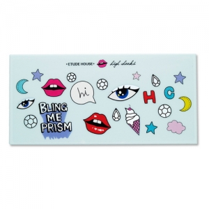 Etude House BLING ME PRISM Eye Shadow Empty Palette (for 8 colors)