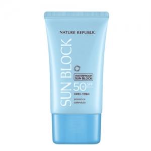 Nature Republic Provence Calendual Waterproof Sun Block SPF50+ PA+++ 57ml
