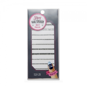 Etude House Play Nail Sticker Silver Stud