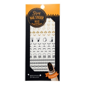 Etude House Play Nail Sticker #02 attention grabbing halloweener
