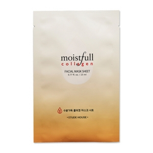 ETUDE HOUSE Moistfull collagen facial Mask sheet 1ea (23ml)