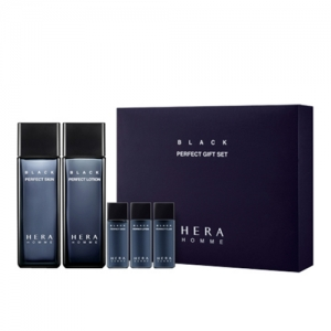 HERA HOMME BLACK PERFECT GIFT SET skin 120ml + LOTION 120ml