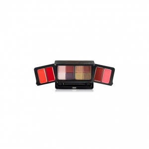 the SAEM lip&eye makeup palette 5.5gx2,1.4gx4